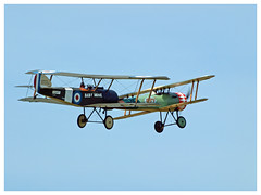 Sopwith Pup & Nieuport 28 - 100 - LX-NIE (Aerofossile2012) Tags: nieuport28 lxnie sopwith ww1 wwi avion aircraft aviation meeting airshow meaux esbly 2018 1418