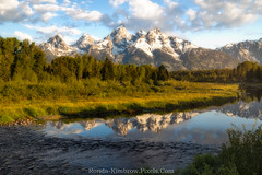 Schwabacher Landing - Grand Teton National Park (RondaKimbrow) Tags: schwabacher landing grand teton national park wyoming river snake landscape morning mountains tetons range reflection fog scenic scenery tourism background vacation photography dawn forest water view peaks