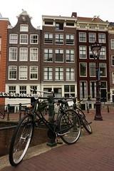 Amsterdam (Ozrkca) Tags: landscape sonyalpha a6000 1650mm amsterdam bike canal houses view netherlands