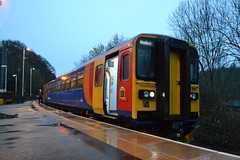 East Midlands Trains Super Sprinter 153313 (Will Swain) Tags: east midlands trains super sprinter 153313 153 313 duffield station 16th march 2019 derbyshire ambergate train rail railway railways transport travel uk britain vehicle vehicles england english europe transportation class