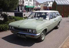 1968 VAUXHALL VICTOR (shagracer) Tags: southend on sea seaside seafront classic car cars show run london to fairlop waters south end vmg828g banded steels wide wheels vauxhall victor estate fe
