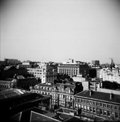 (jadefrancesphoto) Tags: 120mm lomography lomographyfilm lofi blackandwhite bnw cityscape summer glasgow scotland scottishphotographer streetphotography monochrome holga 120holga