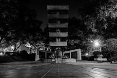 Hiroshima - Peace Memorial Park (-dow-) Tags: giappone hiroshima japan 日本 広島 peacememorialpark monochrome fujifilm x70 memorialtowertothemobilizedstudents