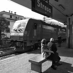 Inverno 2019 BB 100 #17 (train_spotting) Tags: stresa lineadelsempione dbcargoitaliasrl lenord ferrovienordmilano nordcargo traxxf140dc e4831075nc bombardier blackberrykeyone bb100