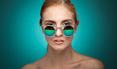 Beth (englishgolfer) Tags: portrait studio woman nikon d7500 tamron 70200mm torquoise