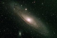 M31 - Andromeda Galaxy (lionbit76) Tags: andromeda galaxy deepsky night stars starfield longexposure telescope m31 m110 m32 siril gimp