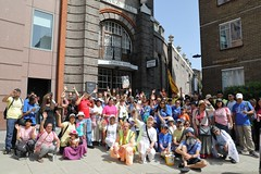 Walk Against Hunger London 29.06.2019 - ISKCON-London Radha-Krishna Temple - 29/06/2019 - IMG_3299 (DavidC Photography 2) Tags: 10 soho street london w1d 3dl iskconlondon radhakrishna radha krishna temple hare harekrishna krsna mandir england uk iskcon internationalsocietyforkrishnaconsciousness international society for consciousness walk against hunger charity sponsored feed homeless buy new ev electric vehicle van free food prasadam distribution all life saturday 29 29th june summer 2019 hottest day year 34 degrees c 34c centigrade celcius 29062019 conwayhall conway hall ethicalsociety ethical