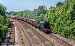60103 | Stapleford | 29th June '19 (Frank Richards Photography) Tags: 60103 flying scotsman 1z88 railway touring company uk england famous steam locomotive stapleford toton trowell mainline 4472 br green summer june 29th 2019 nikon d7100 0627 ealing broadway york railtour the yorkshireman nottinghamshire