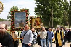 091. Крестный ход из Никольского в Адамовку 01.07.2019