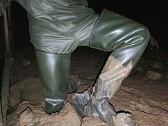 Le Chameau 'Delta' in satisfying mud (essex_mud_explorer) Tags: lechameau delta waders rubber boots thigh hip watstiefel cuissardes gummistiefel rubberlaarzen bottes stivali mud muddy wadersinmud wading wadingthroughmud sinkingin matsch schlamm boue mudflats estuary tidal creek saltmarsh thamesestuary muckingflats