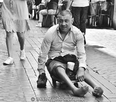 """A picture is worth a thousand words"". (6m views. Please follow my work.) Tags: beggar blackandwhite blackwhite bw biancoenero blanco blancoynegro blancoenero citycentre city dark d7200 nikond7200 enblancoynegro ennoiretblanc flickrcom flickr disabled cripple google googleimages greatphoto inbiancoenero image interesting italian italy italia june mamfphotography mamf monochrome nikon noiretblanc noir negro onthestreet photography photo pretoebranco photograph photographer portrait person qualityphotograph road schwarzundweis schwarz street summer zwartenwit zwartwit zwart rome roma man male poor"
