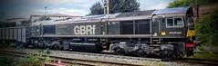 66779 @ Edge Hill (A J transport) Tags: class66 locomotive 66779 eveningstar gbrf railway freight diesel england railways trains