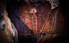 Illuminated humanoid being. Little Petroglyph Canyon. (RS2Photography) Tags: california art petroglyph petroglyphs coso petroglyphcanyon littlepetroglyphcanyon cosorockart flickr native indian explore nativeamerican indigenous ndn cosorockartdistrict chinalake paleoindian chinalakenavalairweaponsstation injun nativeamericanpetroglyphs mojavedesert cosomountains shamanic visionquest shamanicquest canon80d canon history inyo inyocounty old historic national nationalhistoriclandmark