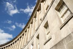 Royal Crescent, Bath (Tom Doel) Tags: royalcrescent bath johnwood wood georgian architecture palladian entablature rusinurbe