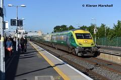 4002 passes Hazelhatch and Celbridge, 18/6/19 (hurricanemk1c) Tags: railways railway train trains irish rail irishrail iarnród éireann iarnródéireann 2019 caf mark4 intercity 4002 0550corkheuston hazelhatch