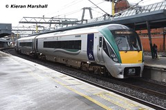22026 at Connolly, 14/6/19 (hurricanemk1c) Tags: railways railway train trains irish rail irishrail iarnród éireann iarnródéireann 2019 22000 rotem icr rok 4pce connolly dublin 1255rosslareeuroportdublinconnolly 22026