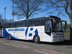 Butler Brothers BUT2B 10042019 (Rossendalian2013) Tags: butlerbrotherskirkbyinashfield bus coach bury vdl sb4000 berkhof axial yj61ggv but2b weardalestanhope