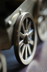 wheel (the.haggishunter) Tags: wheel wheels macro macromondays brass model stephenson rocket
