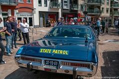 Oldtimermeeting Nijverdal 2019 (Okke Groot - in tekst en beeld) Tags: dodgepolara 37yd69 politieautos nijverdal nederland oldtimermeetingnijverdal