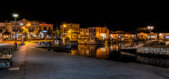 Lemnos - Myrina Harbour at Night (High ISO) (Panasonic Lumix S1 & Lumix S 24-105mm f4 Zoom) (1 of 1) (markdbaynham) Tags: greece greek grecia greka greekisland greekholiday greeceaegean greektown greekaegean gr hellas hellenic food greekfood myrina mypina myrinatown myrinaharbour harbour panasonic lumix lumixer panasoniclumix panasonicleica panny northaegean northaegeanisland s1 drink dcs1 lumixdcs1 s lumixs1 lumixfullframe lumixs lumixszoom 24105mmf4 24105mm zoomlens lumixzoom lumixzoomlens boat ship people taverna tree church traditional landscape seascape seafront nightscape panasonics1 panasonicdcs1 limnos lemnos lemnosgreece limnosgreece greeklife