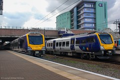Northern 195120 & 195121 (Mike McNiven) Tags: arriva railnorth northern caf civity liverpool limestreet barrow barrowinfurness manchester manchesterairport airport dmu diesel multipleunit