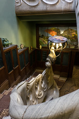 Museum-apartment of A. M. Gorky. Moscow, Russia. (lolita.khlynina) Tags: sight россия москва education interesting place mansion schechtel beautiful stone stones stairs waves wave historical history building architecture apartment museum gorky amgorky russia moscow