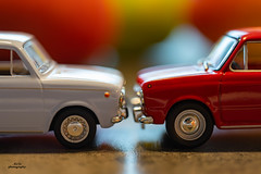 Fiat 850 on Macro Mondays (AdiStoPhotography) Tags: minolta manual macro md macromondays sonya7m2 rayqual minoltarokkor50mmmacro rokkor fiat fiat850 wheel