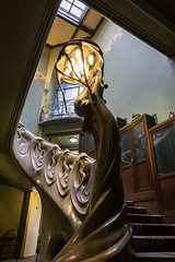 Museum-apartment of A. M. Gorky. Moscow, Russia. (lolita.khlynina) Tags: light white stone stairs waves wave beautiful schechtel building architecture house home gorky education interesting historical history travel moscow russia apartment museum россия москва