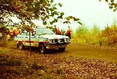 Focol Wyedean Rally, November 1978 (beareye2010) Tags: rally rallyinginthe1970s rallycar 1970s 1978 forestofdean focolwyedean ford fordescort rs2000 peterclarke pca42 internationalpaint