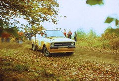 Focol Wyedean Rally, November 1978 (beareye2010) Tags: rally rallyinginthe1970s rallycar 1970s 1978 forestofdean focolwyedean ford fordescort