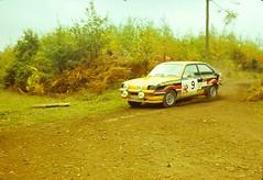 Focol Wyedean Rally, November 1978 (beareye2010) Tags: rally rallyinginthe1970s rallycar 1970s 1978 forestofdean focolwyedean vauxhall vauxhallchevette georgehill