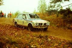 Focol Wyedean Rally, November 1978 (beareye2010) Tags: rally rallyinginthe1970s rallycar 1970s 1978 forestofdean focolwyedean triumph triumphdolomite dolomitesprint terrykaby bl blmc britishleyland