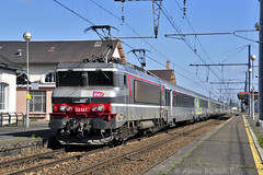 BB 22347 à Montargis (Alexoum) Tags: sncf bb 22347 montargis paris nevers ter train gare locomotive corail