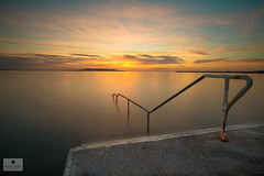 Seapoint Sunrise (Mick Hunt Photography) Tags: dun laoghaire dublin seapoint sunrise summer june ireland infinity dawn lee filters canon 5d mkiii m50 seascape sandycove mickhuntphotography instagram travel 312a8394