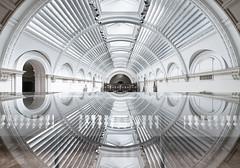 IronWork (Sean Batten) Tags: london england unitedkingdom europe victoriaandalbertmuseum ref reflection architecture glass city urban done lines curves nikon d800 1424
