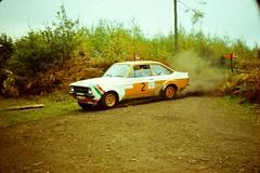 Focol Wyedean Rally, November 1978 (beareye2010) Tags: rally rallyinginthe1970s rallycar 1970s 1978 forestofdean focolwyedean ford fordescort rs1800 hhj701n malcolmwilson