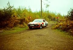 Focol Wyedean Rally, November 1978 (beareye2010) Tags: rally rallyinginthe1970s rallycar 1970s 1978 forestofdean focolwyedean triumph tr7 triumphtr7 tr7v8 triumphtr7v8 tr8 oom512r grahamelsmore