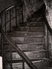 The dark stairs (Geir Bakken) Tags: analog analogue analogphotography film filmisnotdead filmphotography filmcamera beltica cludor carlzeissjena tessar ilovefilm stairs vintagecamera