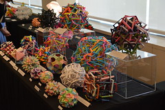 OUSA 2019 Display (Byriah Loper) Tags: origami origamimodular modularorigami modular byriahloper paperfolding paper polygon polyhedron wireframe