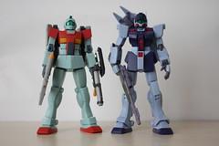 [Robot魂] #209 RGM-79SP GM(ver. A.N.I.M.E) X #253 The Earth Federation Force Weapon set(ver. A.N.I.M.E) X #250 RGM-79SP GM Sniper II (ver. A.N.I.M.E) (! * `n@men!cht) Tags: bandai gundam robot魂 209 rgm79sp gm 253 the earth federation force weapon set 250 sniper anime