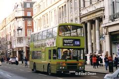 Dublin Bus RH25 (90D1025). (Fred Dean Jnr) Tags: dublinbusroute13a shill leyland olympian alexander rh rh25 90d1025 oconnellstreetdublin april1998 dublinbus busathacliath dublin dublinbustwotonegreenlivery