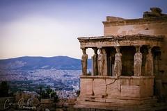 Temple of Erechtheion (corineouellet) Tags: voyage athenes athens monument exposure composition contrast canonphoto acropole acropolis grece greece temple travel