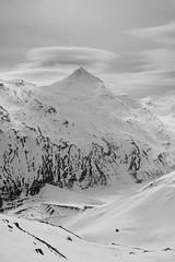 Allalingletscher - Stausee Mattmark (Klemens Baumgartner) Tags: gletscher glacier saasfee schweiz winter nikon schnee snow alpen berge schwarzweiss switzerlan 28mm nikkor 2019 wallis ch skitour hochtour