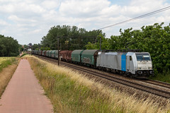 Hoeselt (Andy Engelen) Tags: 186291 traxx railpool staal steel hoeselt