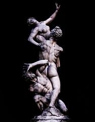 il ratto delle Sabine (robertoburchi1949) Tags: arte art scultura sculpture florence firenze