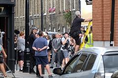 James Bond Filming (Conan500) Tags: james bond 007 film craig daniel se1 waterloo southwark london movie action car vehicle v8 location fujifilm xt2 street british spy mi5 mi6 secret agent