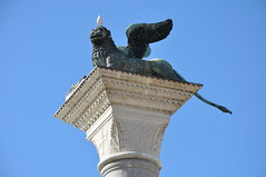 Lion of Venice (Ryan Hadley) Tags: art venice italy europe worldheritagesite lionofvenice sculpture piazzasanmarco stmarkssquare piazza square