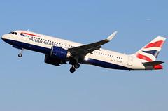 G-TTNF_01 (GH@BHD) Tags: aircraft aviation shuttle airbus neo ba unionflag britishairways airliner a320 baw speedbird a320200 egac bhd belfastcityairport a320251neo gttnf