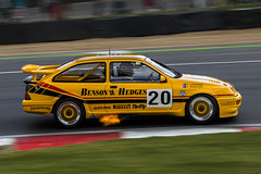 Ford Sierra Cosworth - Brands Hatch (E_W_Photo) Tags: ford sierracosworth legendssuperprix brandshatch motorsport motorracing car panning england uk canon 70200mmf4lis fire exhaustflame