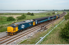 37424_37407GB_GtYarmouth_240619 (Catcliffe Demon) Tags: drs directrailservices class374 railways uk norfolk locohauled tractor ukrailimages2019 mk2f abelliogreateranglia diesellocomotive coco topandtailed largelogo britishrail doublearrow